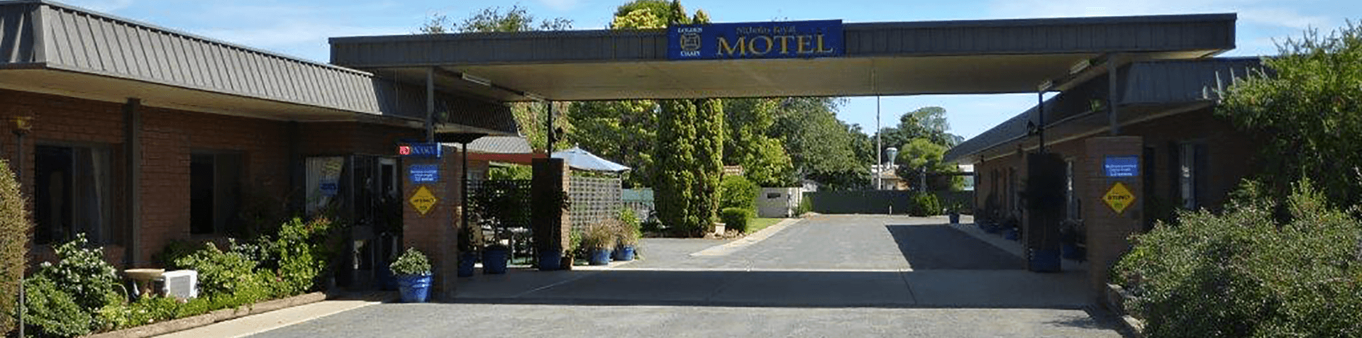 Main Entrance - Nicholas Royal Motel - Hay NSW